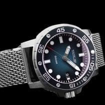 Nauticfish Steel 43mm Automatic Thûsunt blao vintage w/ steel bracelet new