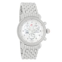 Michele CSX Diamond Ladies MOP Chronograph Quartz Watch...
