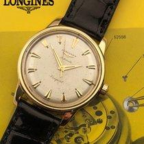 Longines Conquest Желтое золото 35mm Cеребро Без цифр
