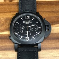 Panerai Luminor 1950 Ceramic Monopulsante 8 Day Black Knight...