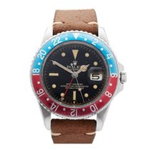 "Rolex GMT-Master ""Pepsi"" Small GMT Hand Stainless Steel Men's..."