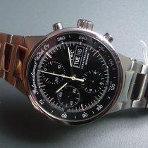 IWC Chronograph 40mm Automatik 2000 gebraucht GST Schwarz