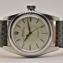 Rolex Bubble Back Steel 32mm Silver No numerals