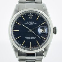 Rolex Oyster Perpetual Date, Ref 1500, Steel, 34mm, Complete Set