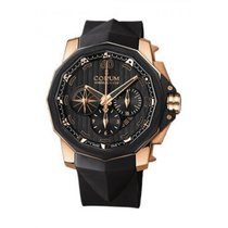 Corum Admiral's Cup Challenger Rose gold 48mm Black