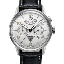 Junkers 42mm Automatic new G38 Silver