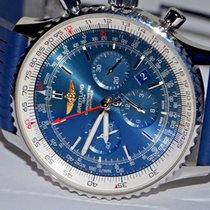 Breitling Navitimer 01 (46 MM) pre-owned 46mm Blue Chronograph Date Rubber