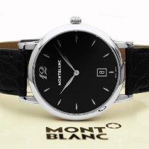 Montblanc 39mm Cuarzo nuevo Star Classique Negro