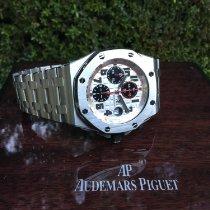 Audemars Piguet Chronograph 42mm Automatic 2013 pre-owned Royal Oak Offshore Chronograph Silver
