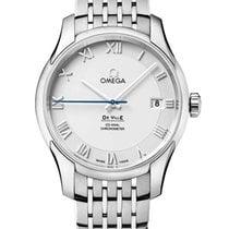Omega De Ville Co-Axial Acero 41mm Plata