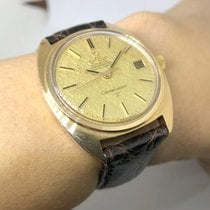 Omega Constellation Yellow gold 36mm Gold No numerals Thailand, Bangkok