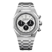 Audemars Piguet Steel Automatic Silver 41mm new Royal Oak Chronograph