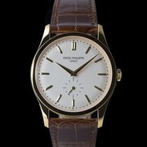 Patek Philippe Calatrava Yellow gold 37mm Silver