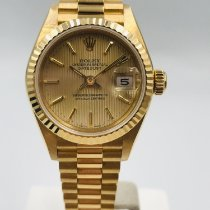 Rolex Lady-Datejust Ouro amarelo 26mm Ouro Sem números