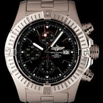 Breitling Super Avenger Steel 48mm Black