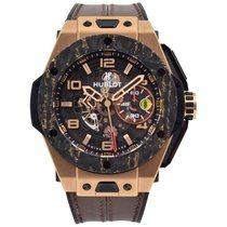 Hublot 401.OJ.0123.VR Rose gold 2019 Big Bang Ferrari 45mm new