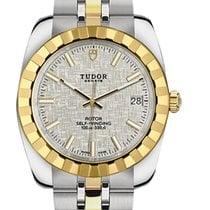 Tudor Gold/Steel 38mm 21013-0011 new