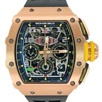 Richard Mille Roségull 49.94mm Automatisk RM11-03 ny