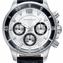 Viceroy Steel 42mm Quartz 42223-05 new