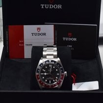 Tudor pre-owned Automatic 41mm Black Sapphire crystal 20 ATM