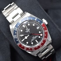 Tudor Black Bay GMT pre-owned 41mm Black Steel