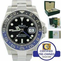 Rolex GMT-Master II použité 40mm Černá GMT Ocel
