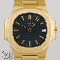 Patek Philippe 3800/001 Yellow gold 1999 Nautilus 37mm pre-owned