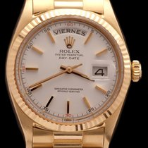 Rolex DAY DATE REF 1803 PINK GOLD RED QUARTER DIAL UNPOLISHED