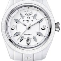 Perrelet Eve Ceramic 40mm White Arabic numerals