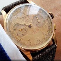 Baume & Mercier Baume  Vintage Chronograph Rosegold Oversize 38mm