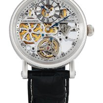 Chronoswiss | A Fine Platinum tourbillon Skeletonized Wristwatch