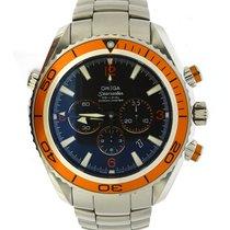 Omega Seamaster Planet Ocean Chronograph gebraucht 44mm Stahl