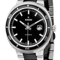Rado D-Star Automatic Steel & Black Ceramic Mens Watch...