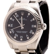 Rolex Oyster Perpetual Diamonds Lady Fluted Bezel