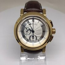 Breguet pre-owned Automatic 42mm Silver Sapphire crystal 10 ATM