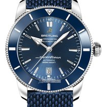 Breitling Superocean Héritage II 46 Steel 46mm Blue United States of America, New York, Airmont
