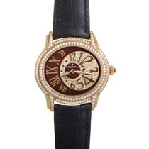 Audemars Piguet Yellow gold Automatic Brown 39.5mm new Millenary Ladies