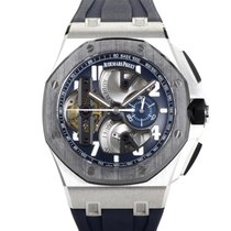 Audemars Piguet Royal Oak Offshore Tourbillon Chronograph 44mm Blauw