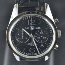 Bell & Ross Steel 41mm Automatic BRV126-BL-BE/SCA pre-owned