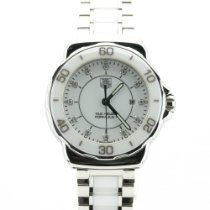 TAG Heuer Formula 1 Lady Staal 32mm Wit Geen cijfers