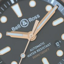 Bell & Ross Bronze Automatic Black Arabic numerals 42mm new BR 03