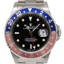 Rolex 16700 Steel 1995 GMT-Master 40mm pre-owned United States of America, California, Los Angeles