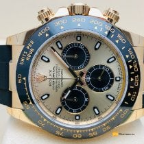 Rolex Daytona Yellow gold 40mm Champagne No numerals