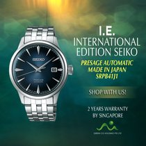 Seiko SRPB41J1 Steel Presage 47.5mm new