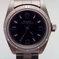 Rolex Oyster Perpetual Acél 24mm Fekete