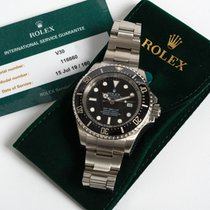 Rolex Sea-Dweller Deepsea Steel 44mm Black No numerals United Kingdom, Kent