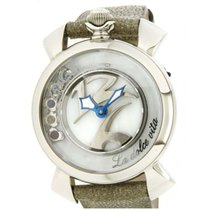 Gaga Milano Steel 36mm Quartz 5030 new