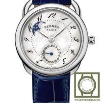 Hermès Arceau neu 2019 Automatik Uhr mit Original-Box und Original-Papieren 045268WW00