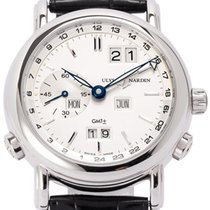 Ulysse Nardin GMT +/- Perpetual White gold 38.5mm
