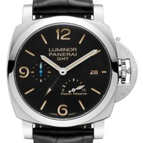 Panerai PAM01321 Steel 2018 Luminor 1950 3 Days GMT Power Reserve Automatic 44mm new United States of America, Florida, 33132